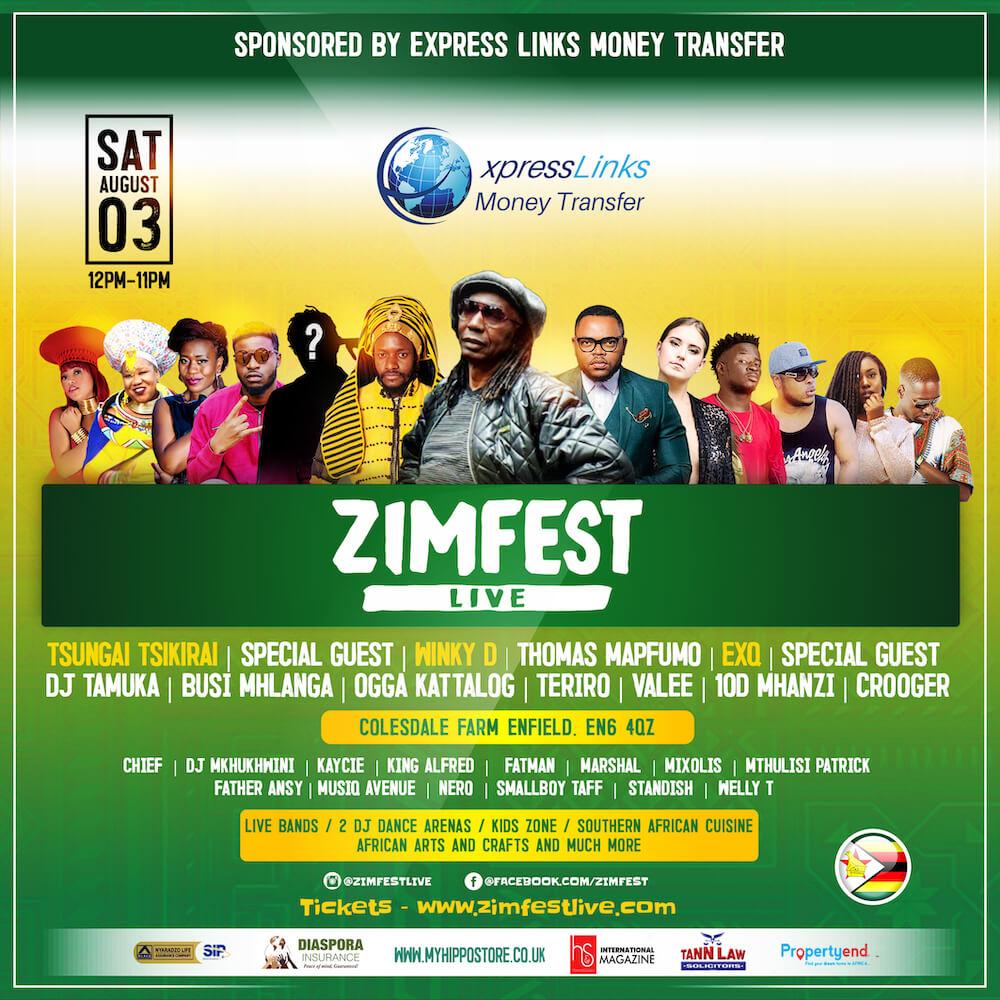 Zimfest 2019 details