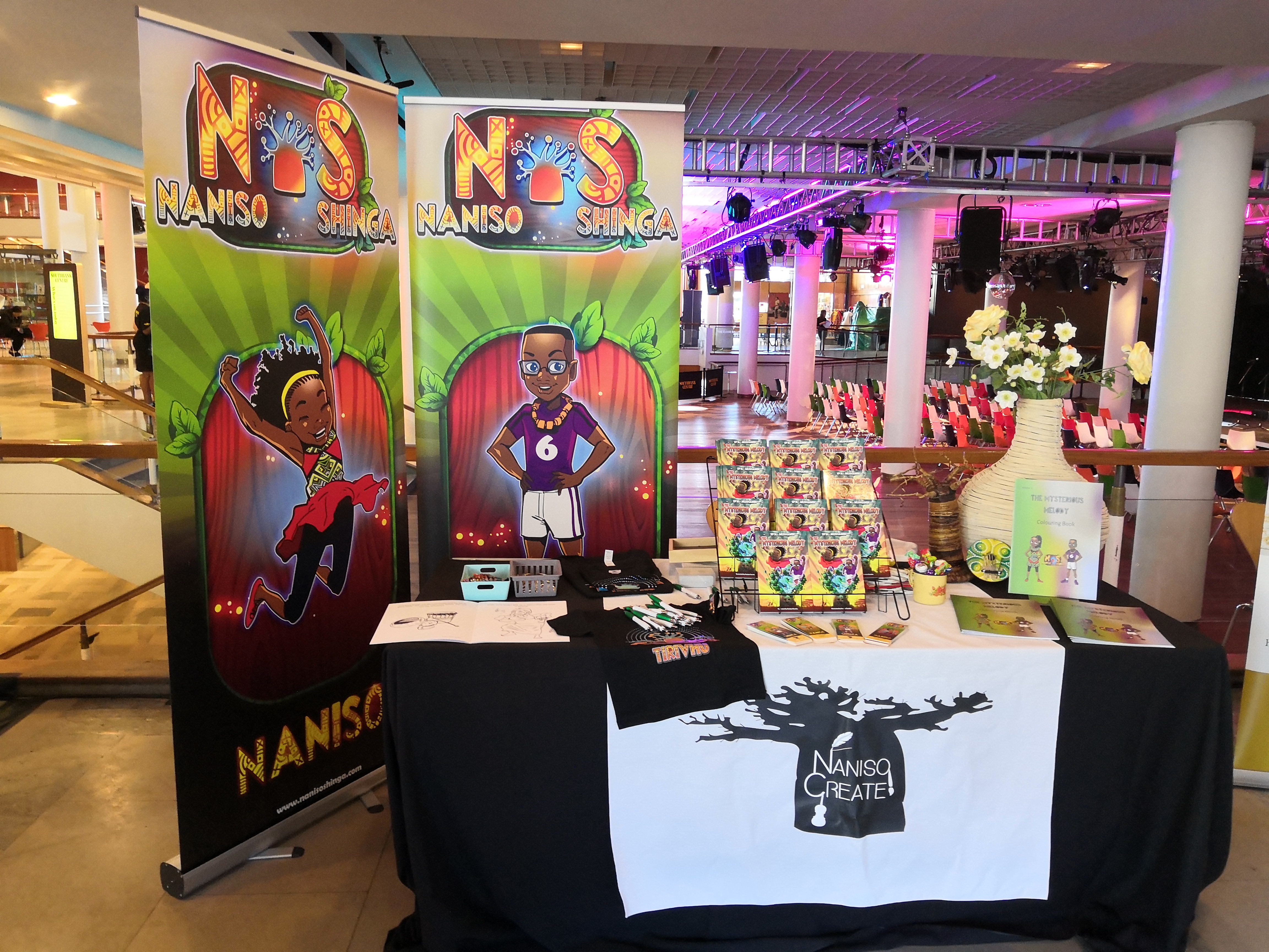 Music with Naniso Create at Africa Utopia 2019, Southbank Centre